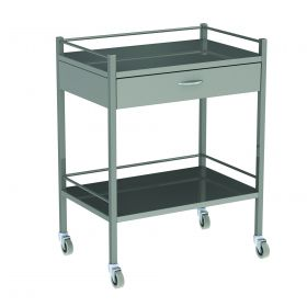 Instrument Trolley One Drawer Model AX 060