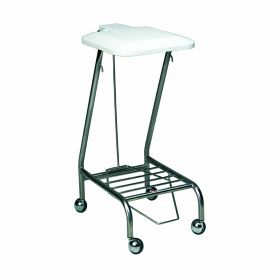 Single Linen Skip - foot operated Powder Coated AX 291 PC