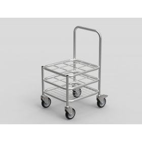 Multi Stack Gas Cylinder Trolley - 9xC Size capacity AX 524SS