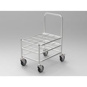 Multi Stack Gas Cylinder Trolley - 6xC Size/ 6xD Size capacity AX 525SS