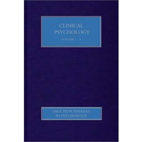 Clinical Psychology: Collection: I and II (8 Volume Set)