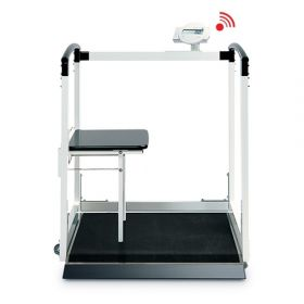 Seca 684 Multifunctional scale, electronic  360 kg/800 lbs, with access ramp, Wireless.
