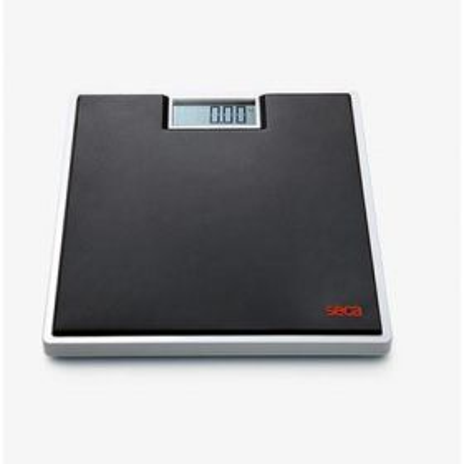 Seca 803 FlatScale, Electronic, 150 kg/330 lbs  Black Rubber Platform