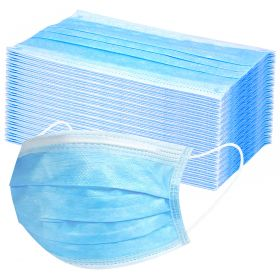 Disposable 3 ply Face Masks pack of 50