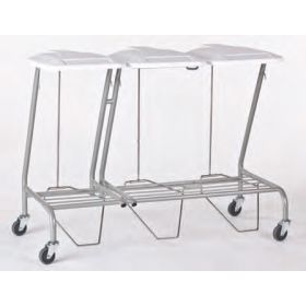 Triple Linen Skip - foot operated Powder Coated AX 307PC