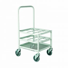 Multi Stack Gas Cylinder Trolley - 9xC Size capacity AX 524
