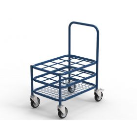 Multi Stack Gas Cylinder Trolley - 12xC Size capacity AX 525