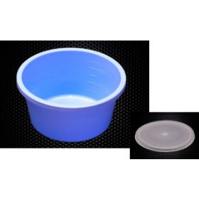 Denture Cup Lid 250ml Pack of 25 (Lid Only)