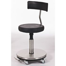 Surgeon Stool Foot Operated - Backrest AX 270